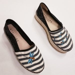 Ateliers Chunky Embroidered Espadrilles